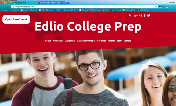 Edlio Refresher for Admins webinar recording