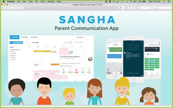Sangha Meetings and Calendars Webinar Screencap