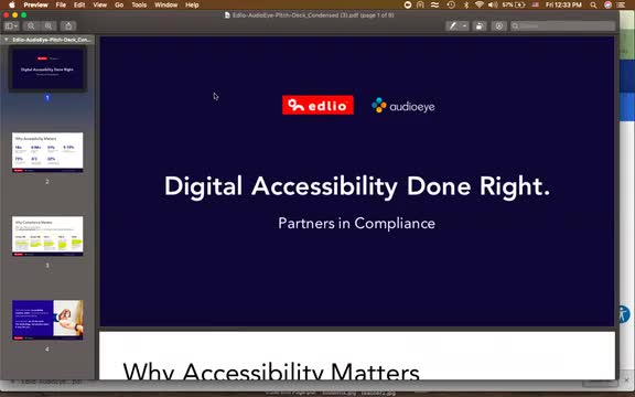 Edlio ADA webinar screencap