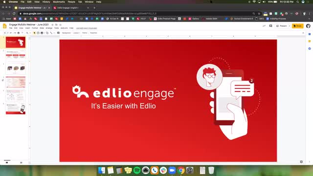 [Edlio Webinar] Edlio Engage Screencap