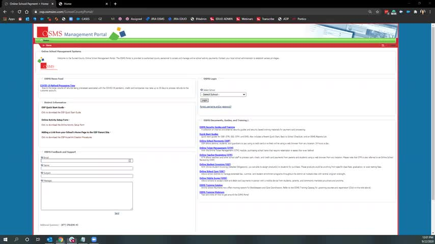 [Edlio Webinar] Edlio Pay Training: Collecting Sponsorships screencap