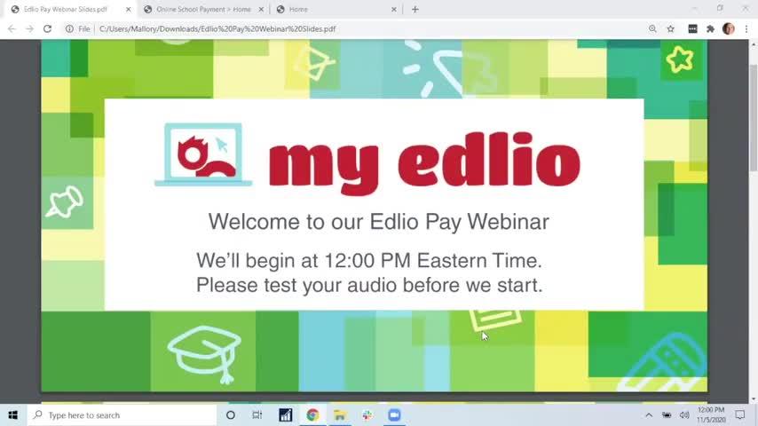 [Edlio Webinar] Edlio Pay 101: The Basics screencap