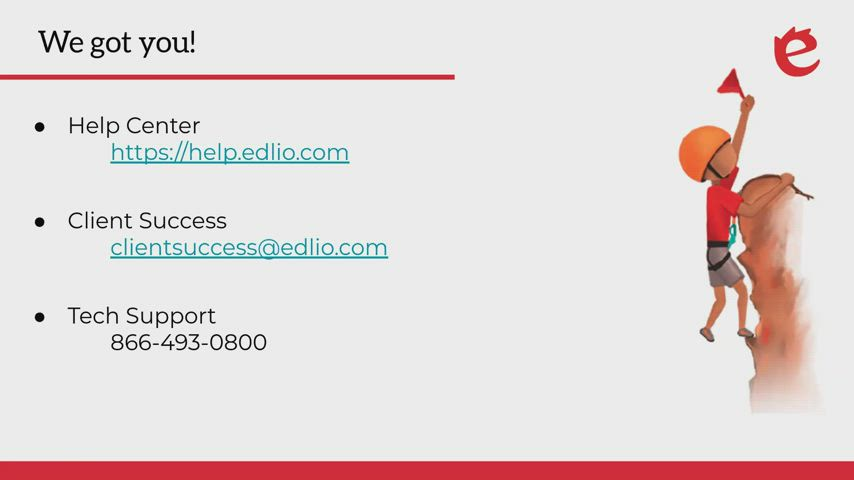 [Edlio Webinar] Contact Lists + Email Sender screencap