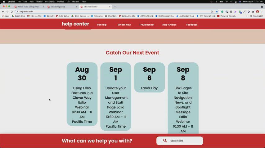 Using Edlio Features in a Clever Way [Edlio Webinar] screencap