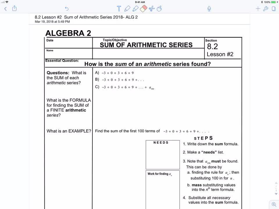 Algebra 2 questions