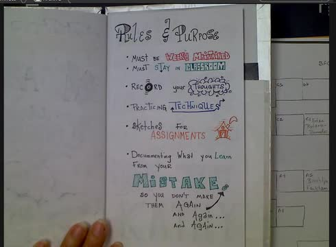 Rules and Purpose page