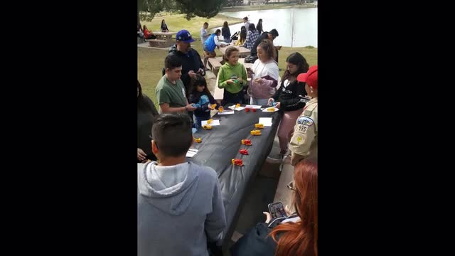 Trout Release event