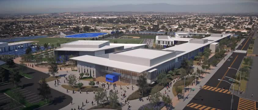 El Rancho High School Redevelopment