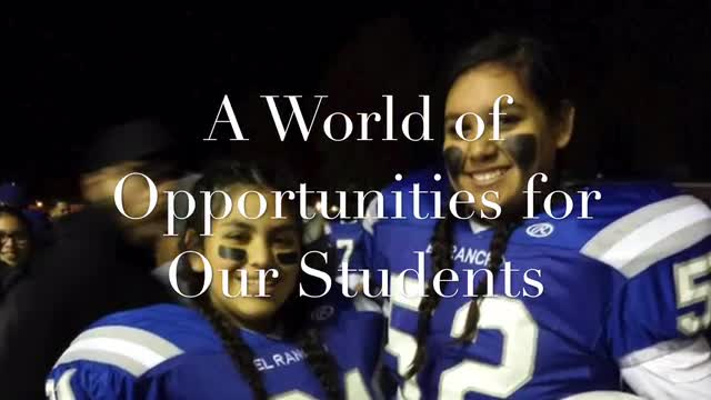 A World of Opportunities for our Students