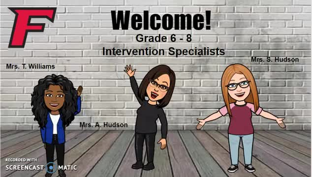 Virtual Learning Intervention Specialists Open House - Crossroads Middle