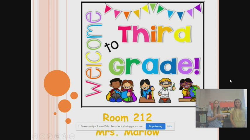 West Elementary - Mrs. Marlow's Virtual Open House