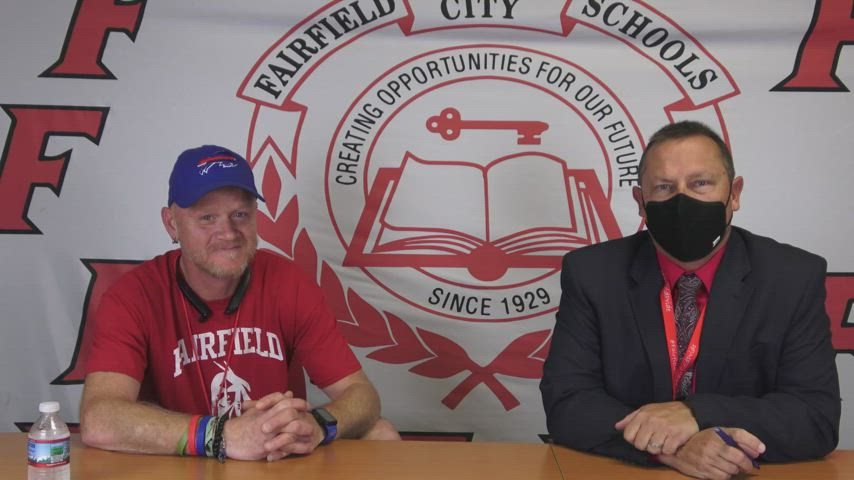 Superintendent Billy Smith sits down with FCSD Support Staff Member of the Year, Billy Carberry. Mr. Carberry is a custodian at Creekside Middle School. Nominated by several of his peers, Mr. Carberry was selected as the Fairfield City School District's Support Staff Member of the Year. In this video, Mr. Smith chats with Mr. Carberry about working and being part of the Fairfield family.