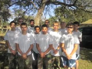 FHS AFJROTC Raider Meet, Camp Bullis, TX Jan 2014