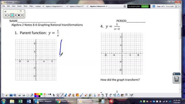 Algebra 2 Notes 8-6