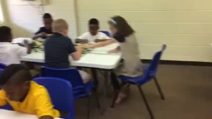 Video teaching chess students about chaos