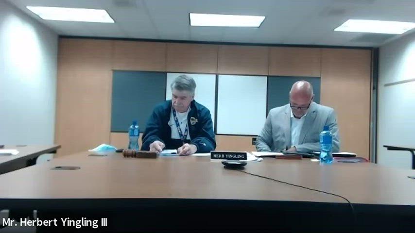 Franklin Regional Board of School Directors Public Hearing - May 24, 2021