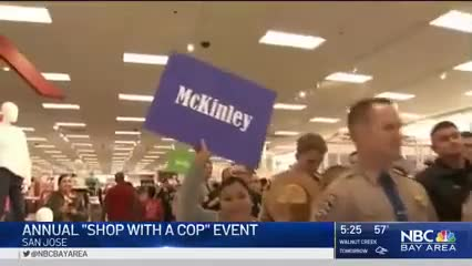 Students Shop with a Cop