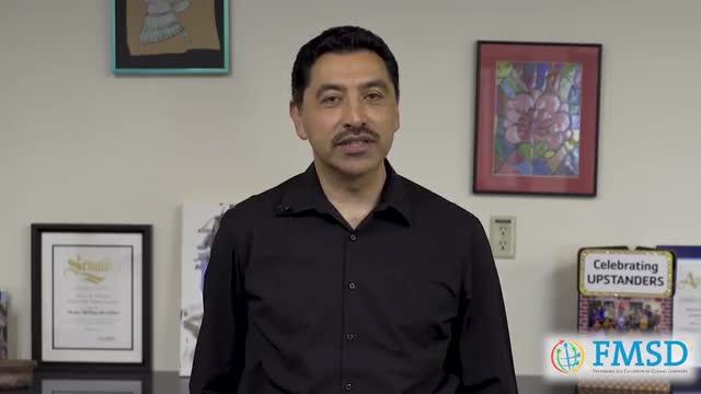 Superintendent Juan Cruz Message