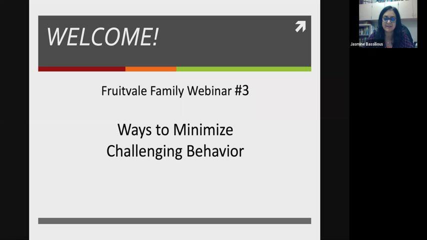 ways to minimize challenging behavior