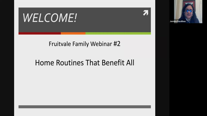 home routines that benefit all