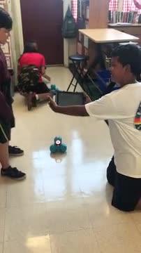 6th grade programming robots
