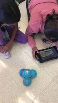 6th grade programming robots