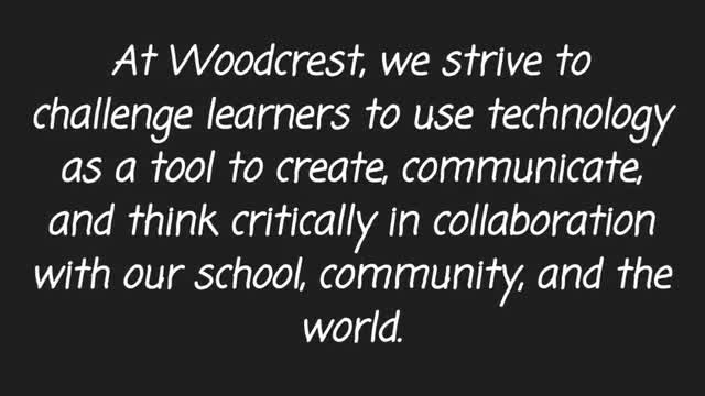 Video about Woodcrest Elementary