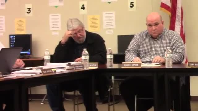 Board Meeting 1/26/17