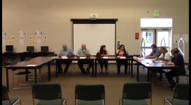 Board Meeting 8-1-17