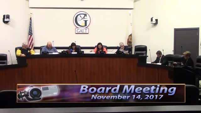 Board Meeting 11-14-17