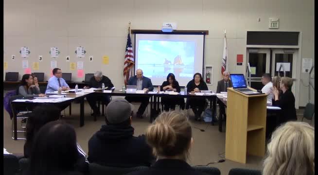 Board Meeting 1-9-17