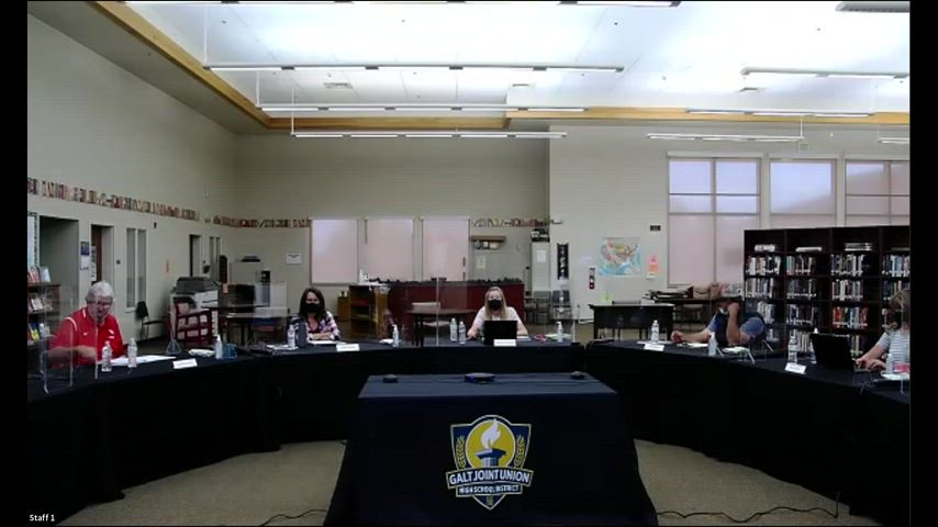 Board Meeting 4-1-21 (Open Session, Online Video)