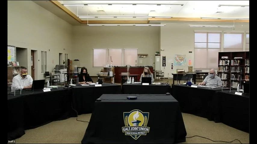 Special Board Meeting 4-22-21 (Open Session, Online Video)