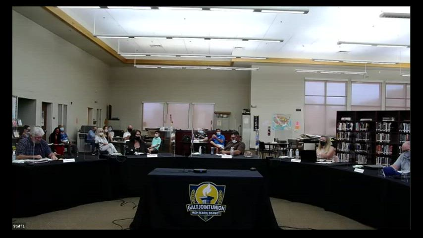 Board Meeting 5-6-21 (Open Session, Online Video)