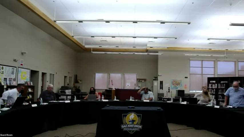 Board Meeting 8-24-21 (Open Session, Streamed Online)