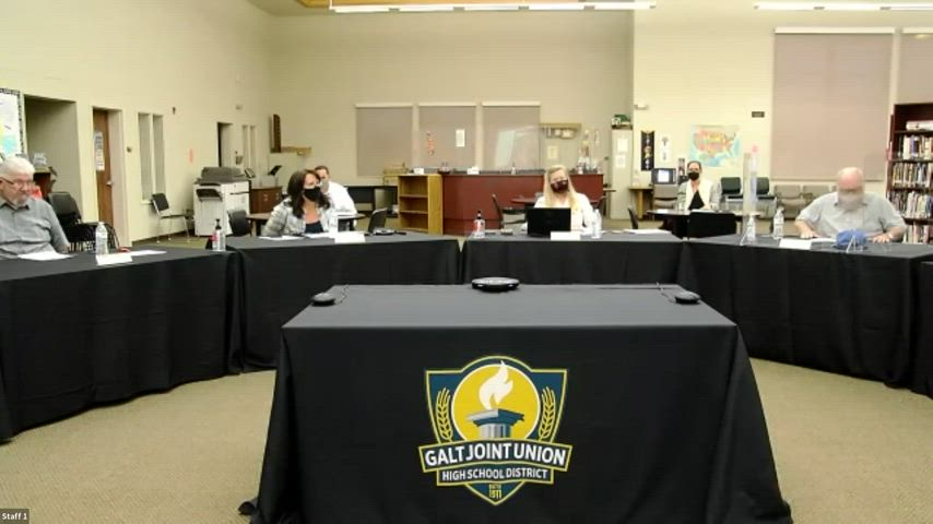 Board Meeting 10-7-21 (Open Session, Streamed Online)