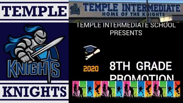 June 10, 2020 (2 pm) TEMPLE INTERMEDIATE  Virtual Promotion