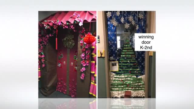 Third Annual Holidays and Celebrations Around the World Door Decorating Contest