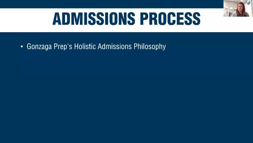 Webinar Clip - Admissions Process Overview