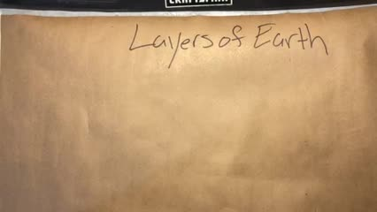 Compositional Layers of Earth Notes 3-23-20 Video 2 of 4