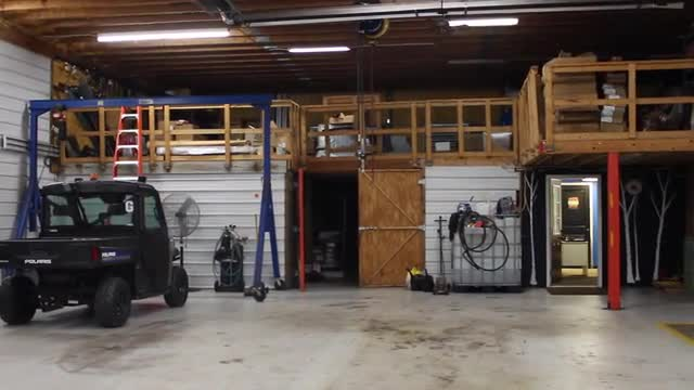 video of supervisor speaking about bus garage and office