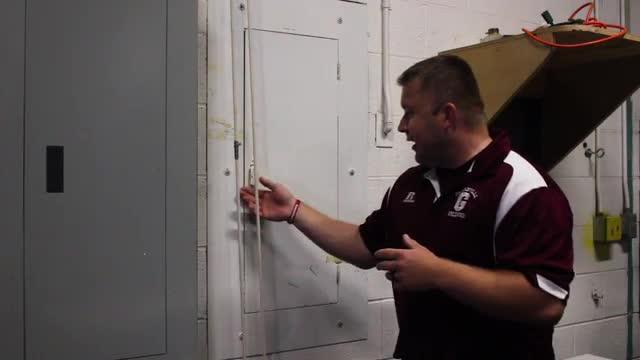 man talks about maintenance