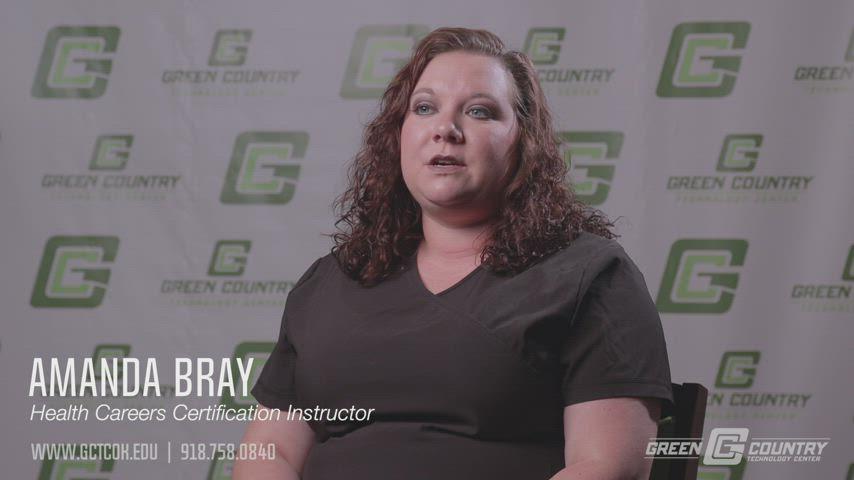 Video for Health Careers Certification Program
