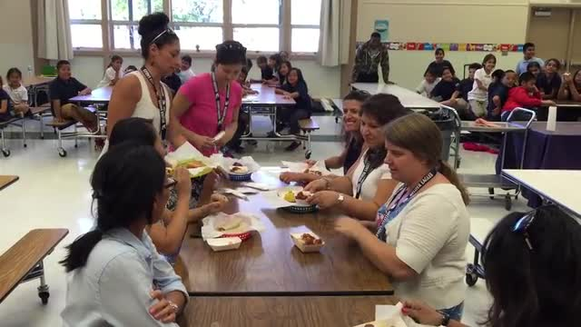 Cafeteria Table manners & cleaning up