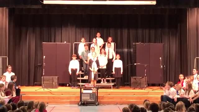 Performance by the 4th Grade -