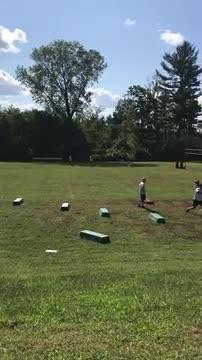 Preseason Football Practice