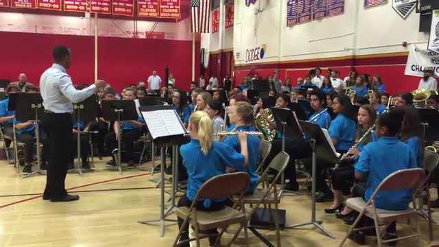 Symphonic Band at Mass Band