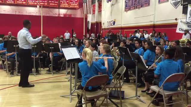 Symphonic Band at Mass Band