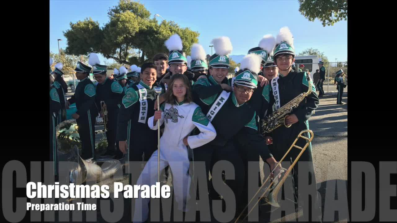 Hemet Christmas Parade 2019 Winter Concert Slideshow | Dartmouth Middle School