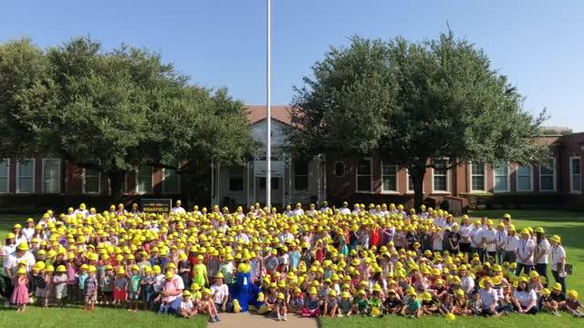 Bradfield Campus-wide hard hats video.